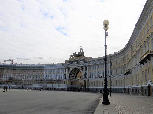 ロシア・サンクトペテルブルクの旧参謀本部