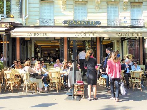フランス・パリの老舗カフェCarette(カレット)本店