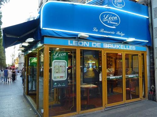 フランス・パリのレストランleon de bruxellesの外観