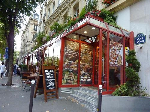フランス・パリのレストランmonte carloの外観