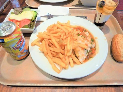 フランス・パリのレストランmonte carloのセットメニュー
