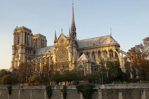 フランス・パリのノートルダム大聖堂