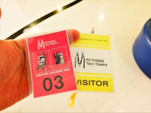 マレーシア・クアラルンプールのペトロナスツインタワーの展望台ツアーバウチャータグ
