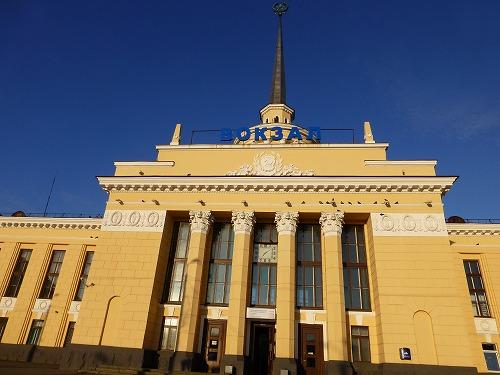 ロシア・ペトロザヴォーツク駅