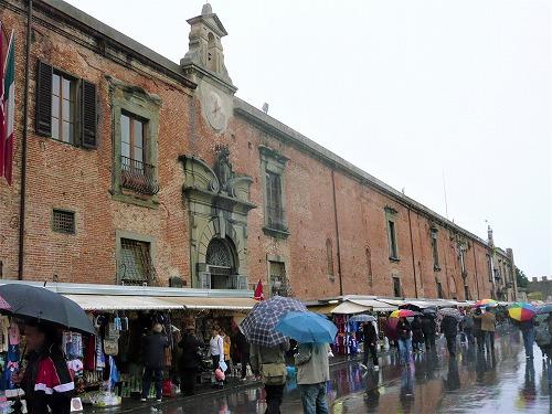 イタリア・ピサのシノーピエ美術館兼ピサの斜塔などのチケット売り場