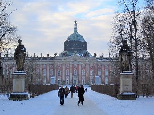 ポツダム(ドイツ)にある新宮殿