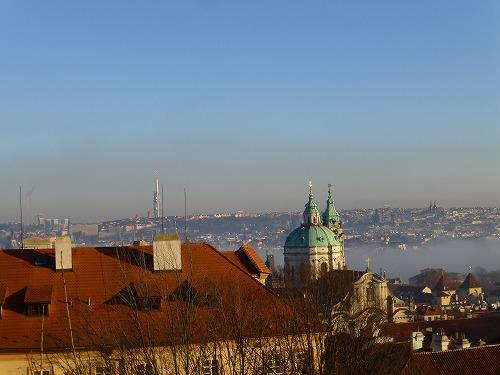 チェコ・プラハのプラハ城からの眺め