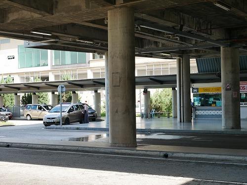 マレーシアのプトラジャヤ&サイバージャヤ駅のタクシースタンド