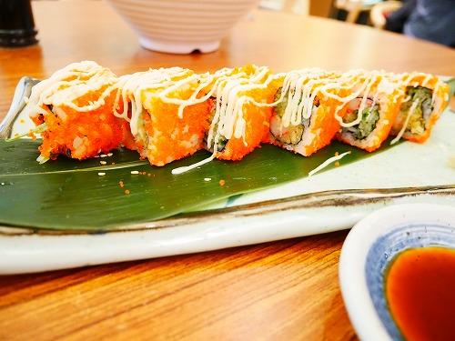 マレーシア・クアラルンプールの和食料理店「Umai-ya」で食べたカルフォルニア・ロール
