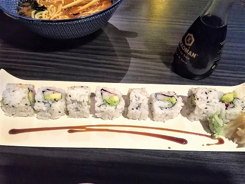 スペイン・バルセロナの和食料理店「Wasabi」で食べたカルフォルニア・ロール