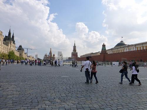 ロシア・モスクワの赤の広場