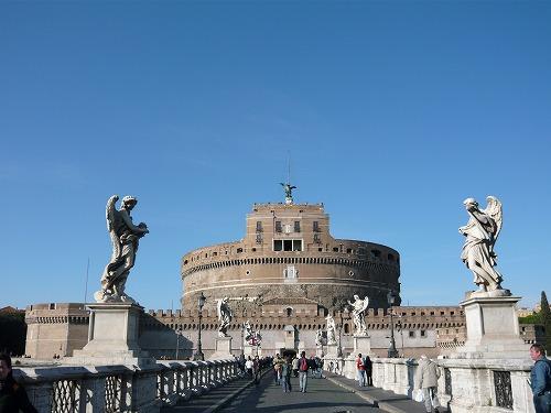 イタリア・ローマにあるサンタンジェロ城
