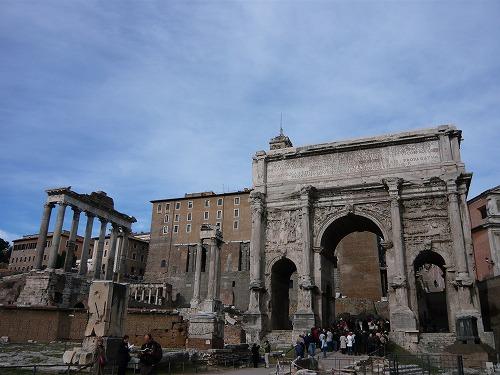 イタリア・ローマにあるフォロ・ロマーノ