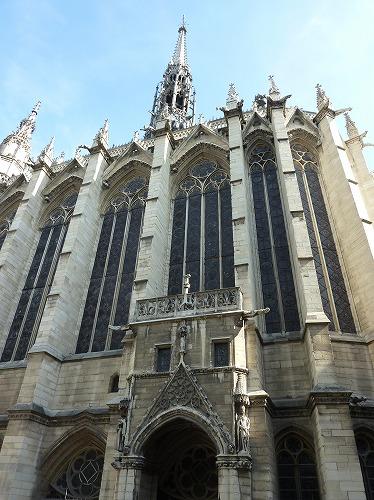 フランスのパリにあるサント・シャペルの外観