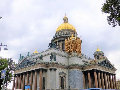 ロシア・サンクトペテルブルクのイサク大聖堂