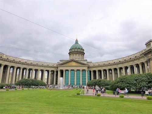 ロシア・サンクトペテルブルクのカザン大聖堂
