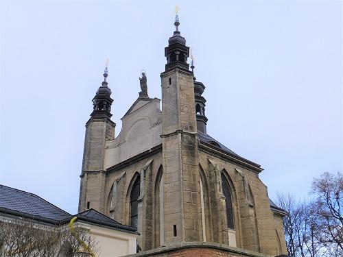 チェコのクトナー・ホラにあるセドレツ納骨堂の外観