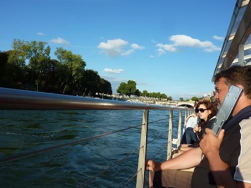 フランス・パリのセーヌ川クルーズ(バトー・パリジャン)