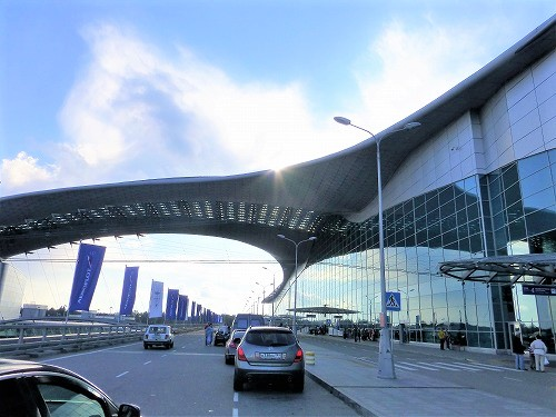 モスクワ・シェレメチェヴォ国際空港の外観