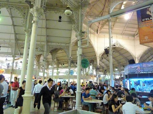 シンガポールのラオ・パ・サ・フェスティバル・マーケット(ホーカーズ)