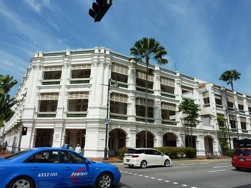 シンガポールのラッフルズホテル