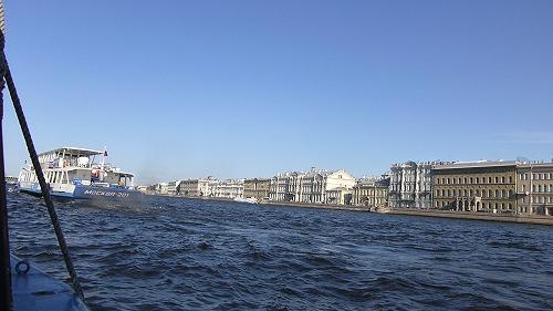 ロシア・サンクトペテルブルクのネヴァ川クルーズ(ネヴァ川)