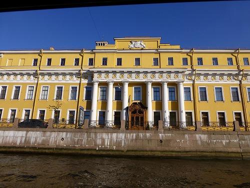 ロシア・サンクトペテルブルクのネヴァ川クルーズ