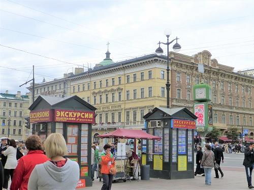 ロシア・サンクトペテルブルクのチケット売り場(KACCA)