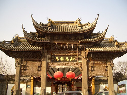 中国・蘇州にある北寺塔