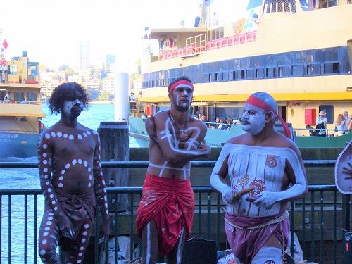 オーストラリア・シドニーで見た先住民アボリジニ