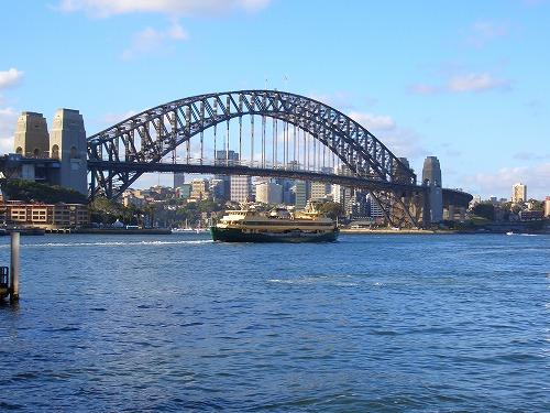 オーストラリア・シドニーのハーバーブリッジ