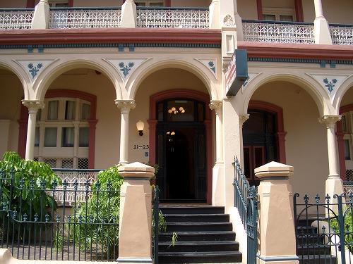 オーストラリア・シドニーのチャリスホテルの外観