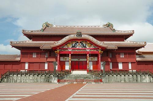 沖縄の首里城