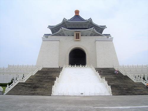 台湾・台北の中正紀念堂の紀念堂
