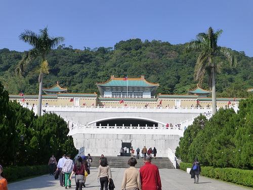 台湾・台北の国立故宮博物院