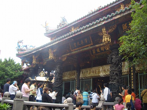 台湾・台北の龍山寺