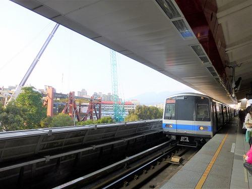 台湾・台北のMRT