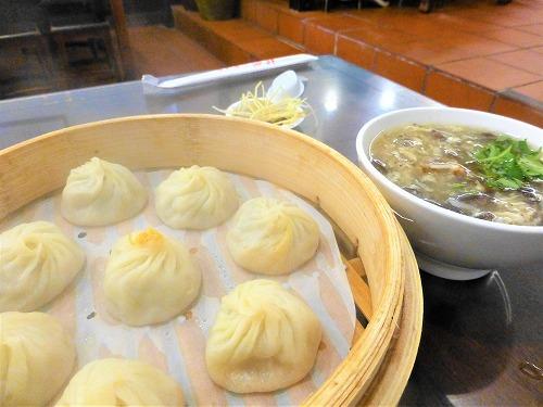 杭州小籠湯包で注文した小籠包