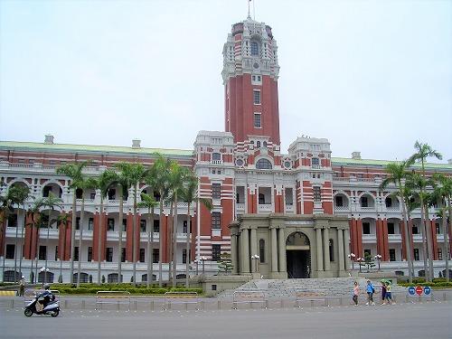 台湾・台北の総統府