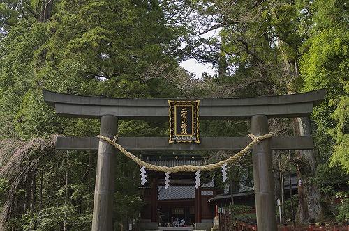 日光の二荒山神社