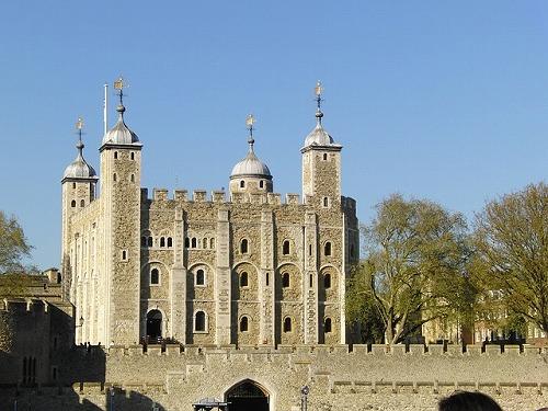 イギリス・ロンドンのロンドン塔のホワイト・タワー