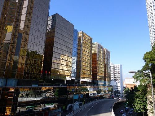 香港のターボジェット乗り場が併設されている中港城