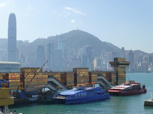 香港のターボジェット乗り場(中港城)
