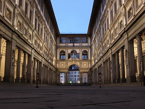 イタリア・フィレンツェのウフィッツィ美術館