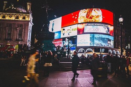 イギリス・ロンドンにあるピカデリーサーカス
