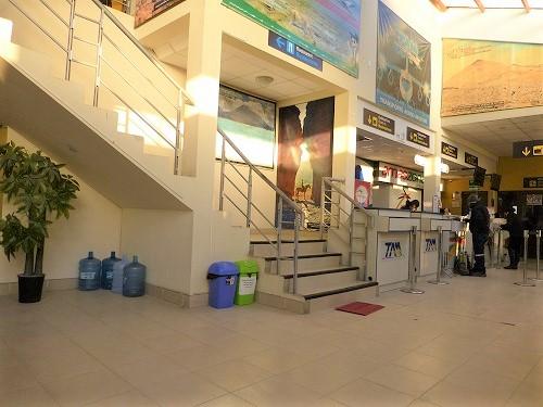ボリビア・ウユニ空港内部