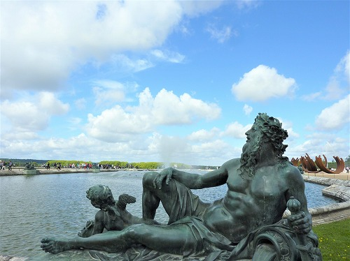 フランス・ベルサイユ宮殿の庭園