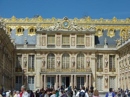 フランス・ベルサイユ宮殿の外観
