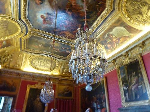 フランス・ベルサイユ宮殿内部