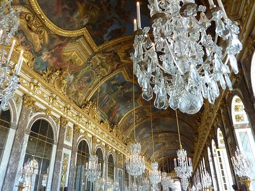 フランス・ベルサイユ宮殿の鏡の回廊(鏡の間)